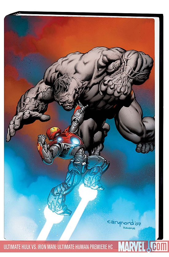 Ultimate Hulk Vs. Iron Man: Ultimate Human (Hardcover)