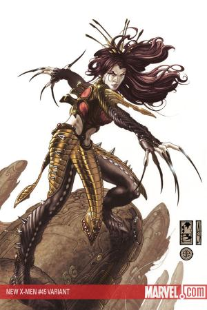 New X-Men (2004) #45 (Lady Deathstrike Variant)