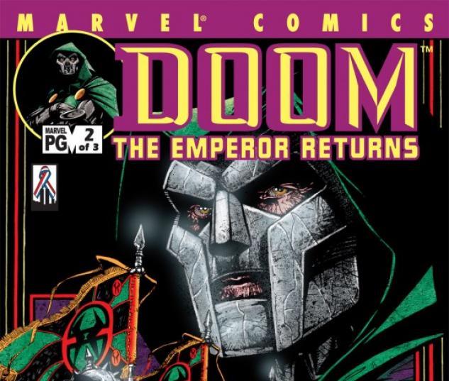 DOOM: THE EMPEROR RETURNS #2 COVER