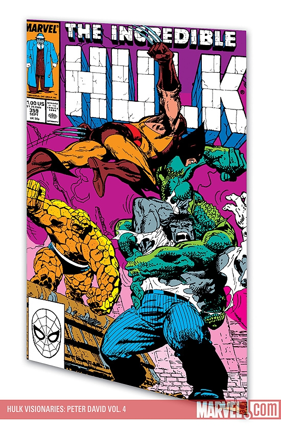 Hulk Visionaries: Peter David Vol. 4 (Trade Paperback)