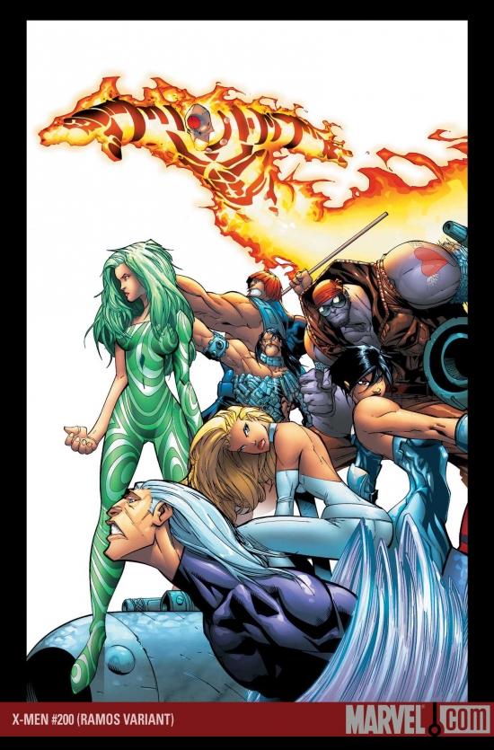 X-Men (2004) #200 (Humberto Ramos Wraparound Variant)