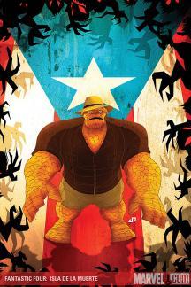 Fantastic Four: Isla De La Muerte! #1