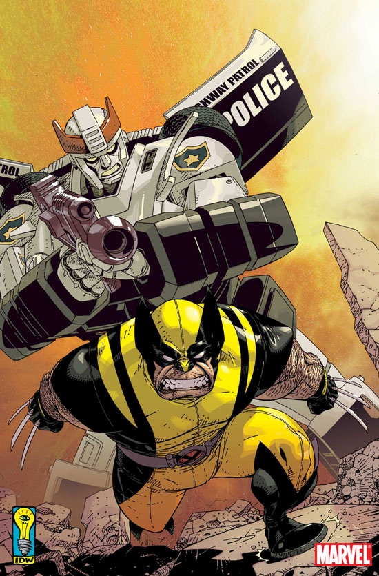 New Avengers/Transformers (2007) #2