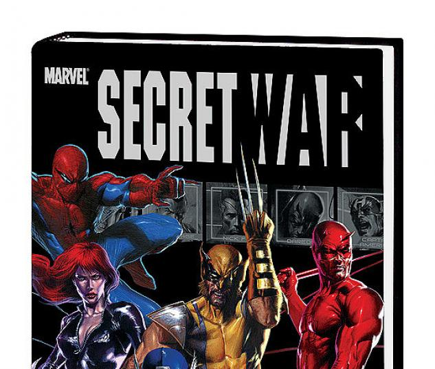 SECRET WAR COVER
