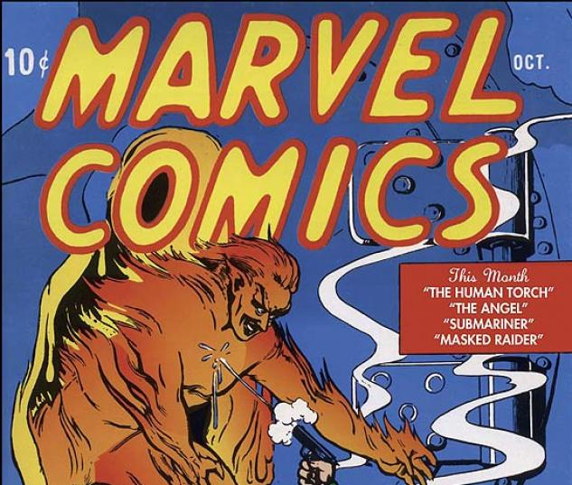 MARVEL MASTERWORKS: GOLDEN AGE MARVEL COMICS VOL. 1 COVER