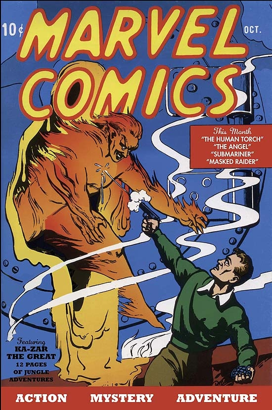 Marvel Masterworks: Golden Age Marvel Comics Vol. 1 (Hardcover)