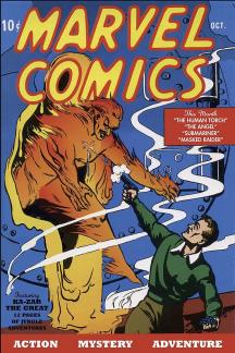 Marvel Masterworks: Golden Age Marvel Comics Vol. 1 (Hardcover)