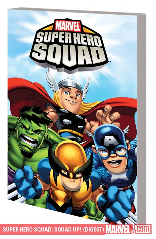 Super Hero Squad: Squad Up! (Digest) (Digest)