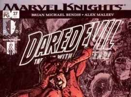 DAREDEVIL #27 (1998) cover