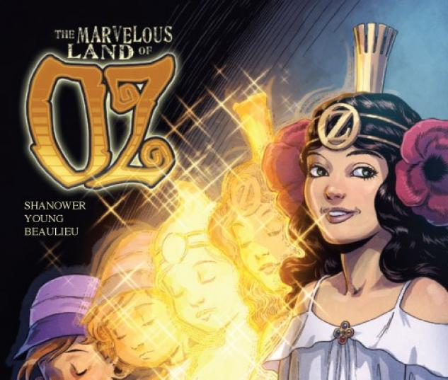 THE MARVELOUS LAND OF OZ #8 variant cover by Eric Shanower