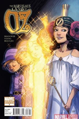The Marvelous Land of Oz (2009) #8 (SHANOWER VARIANT)