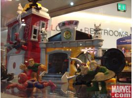 Superhero Squad Spider-Man, Sandman, Doctor Octopus and Vulture