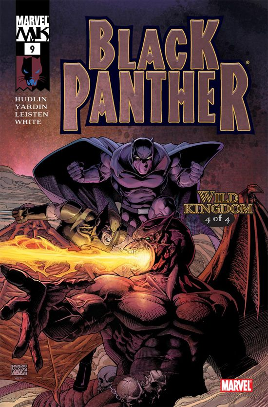 Black Panther (2005) #9