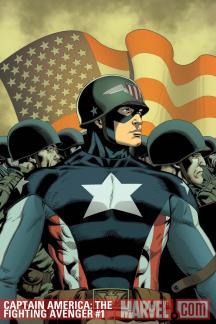 Captain America: The Fighting Avenger #1