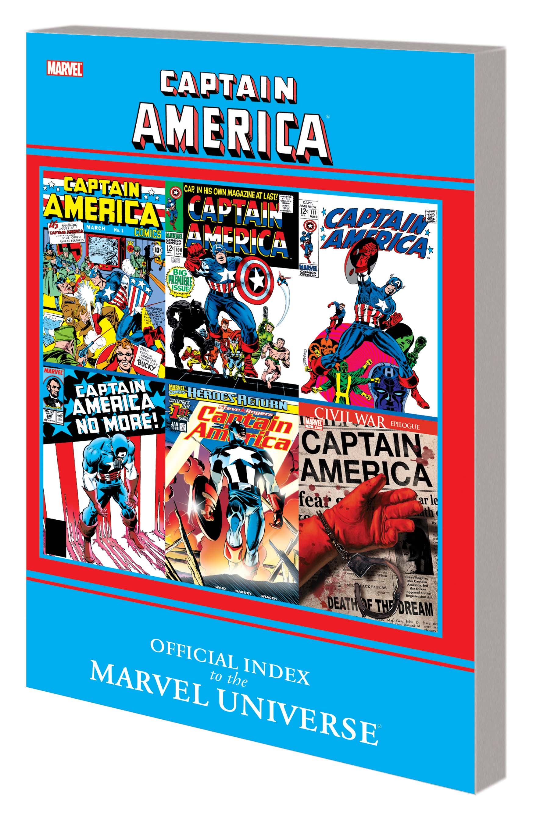 Captain America: Official Index to the Marvel Universe GN-TPB (Graphic Novel)