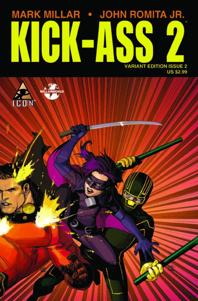Kick-Ass 2 (2010) #2 (YU TRIPLE VARIANT)