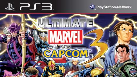 Ultimate Marvel vs. Capcom 3 PlayStation 3 Box Art