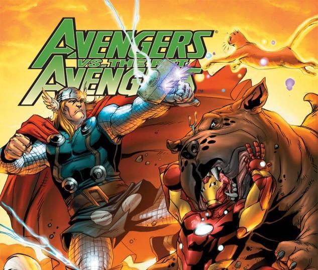 Avengers Vs. Pet Avengers (2010) #3
