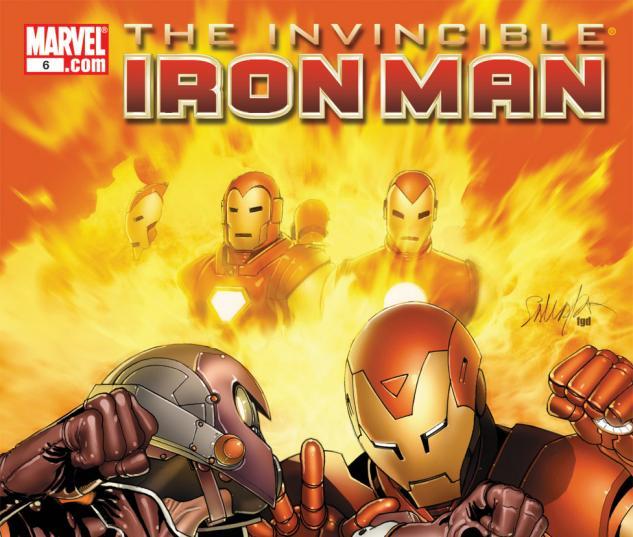 Invincible Iron Man (2008) #6
