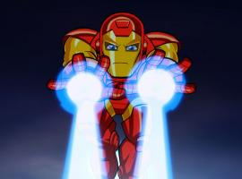 Iron Man in The Super Hero Squad Show