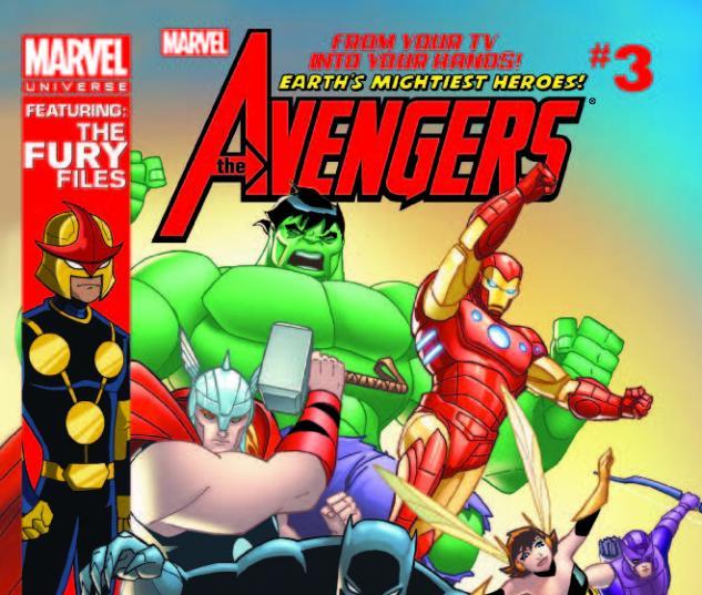 MARVEL UNIVERSE AVENGERS EARTH'S MIGHTIEST HEROES 3