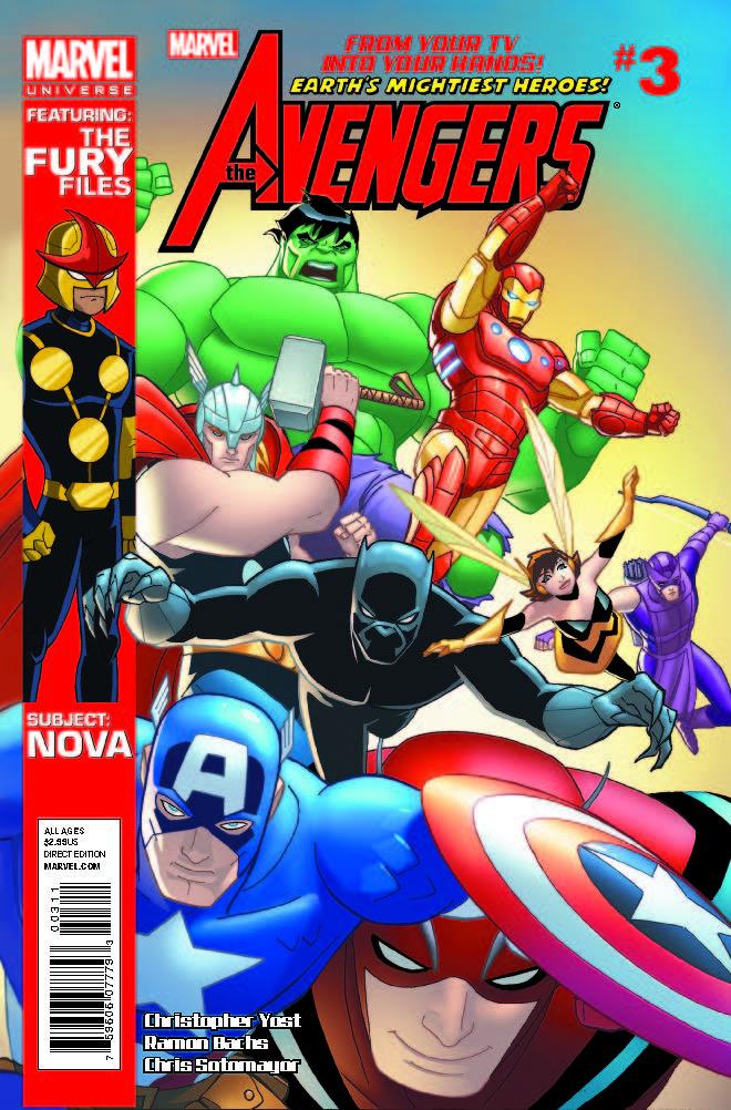 Marvel Universe Avengers: Earth's Mightiest Heroes (2012) #3