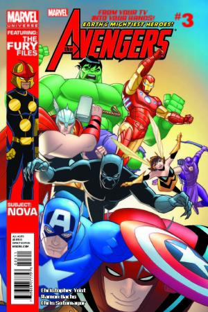 Marvel Universe Avengers: Earth's Mightiest Heroes #3