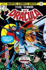 Tomb of Dracula (1972) #36 cover