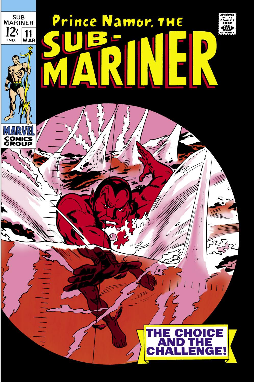 Sub-Mariner (1968) #11