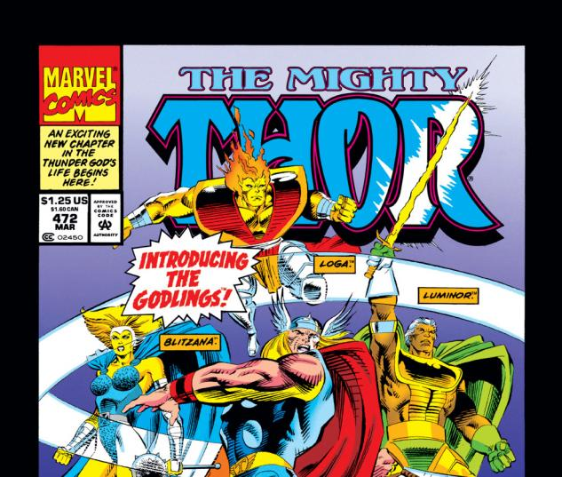 Thor (1966) #472 Cover