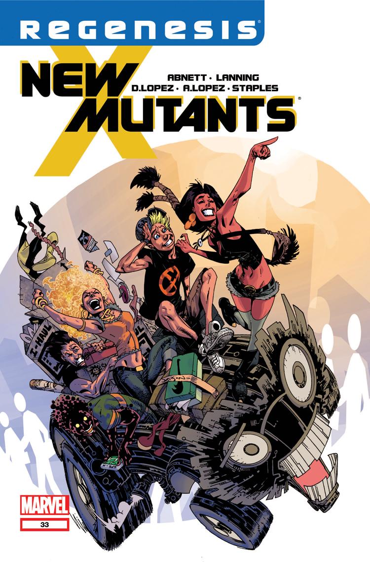 New Mutants (2009) #33