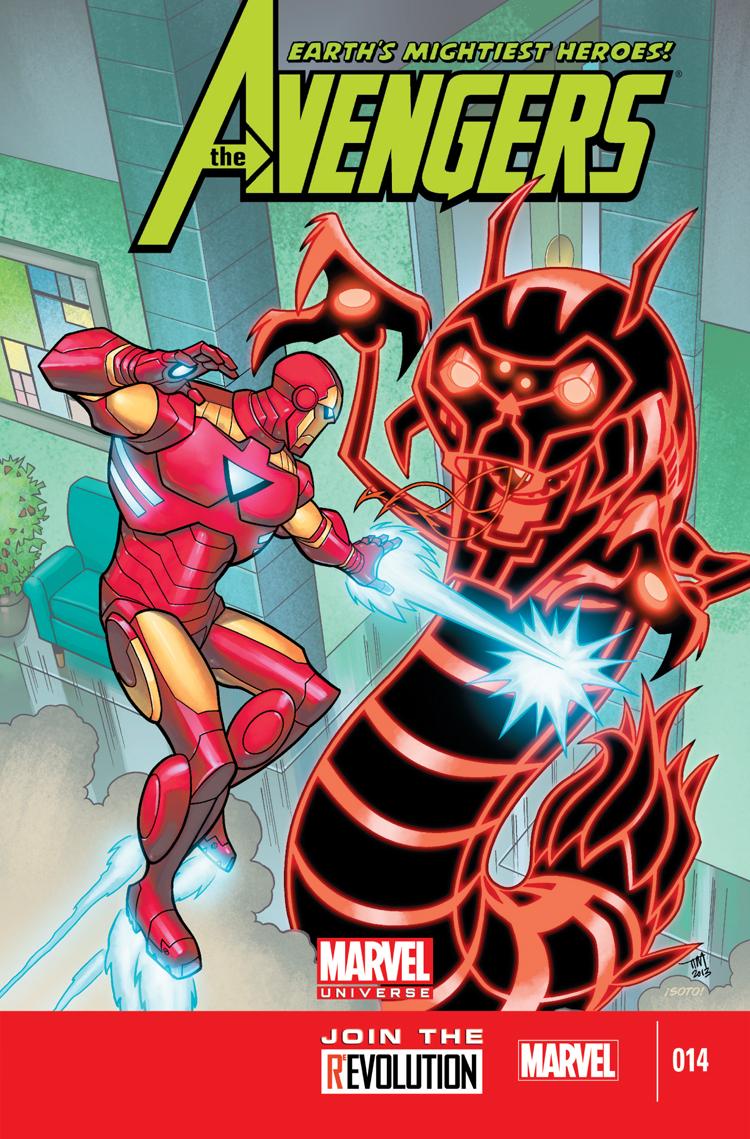 Marvel Universe Avengers: Earth's Mightiest Heroes (2012) #14