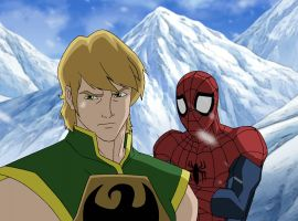 Iron Fist and Spidey journey to K'un-L'un in Marvel's Ultimate Spider-Man