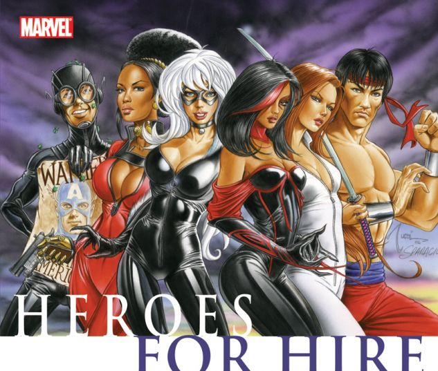 Civil War: Heroes for Hire (2009) TPB