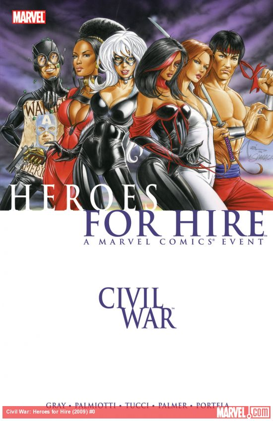 Civil War: Heroes for Hire (Trade Paperback)