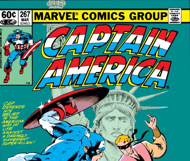 Captain America (1968) #267 Cover