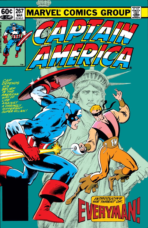 Captain America (1968) #267