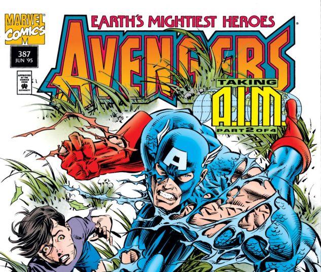 Avengers (1963) #387 Cover