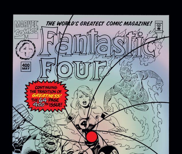 Fantastic Four (1961) #400 Cover