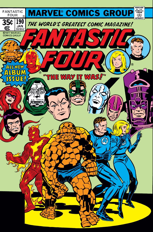 Fantastic Four (1961) #190