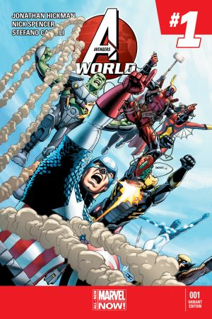 Avengers World (2014) #1 (Barberi Deadpool Variant)