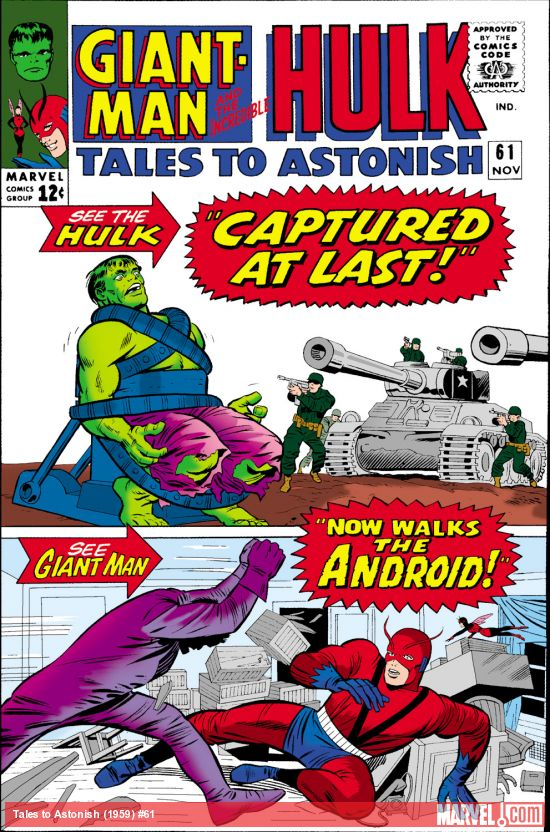 Tales to Astonish (1959) #61