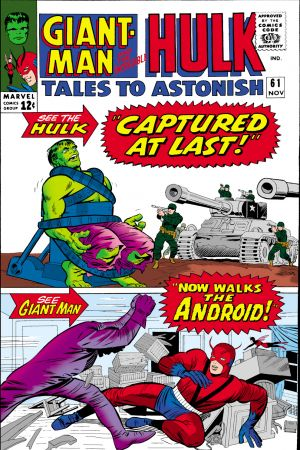 Tales to Astonish #61