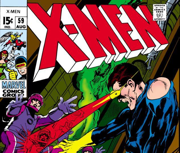Uncanny X-Men (1963) #59 Cover