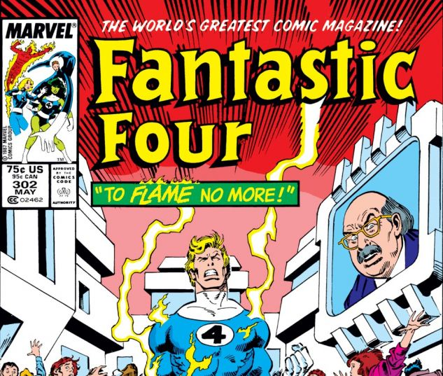 Fantastic Four (1961) #302 Cover