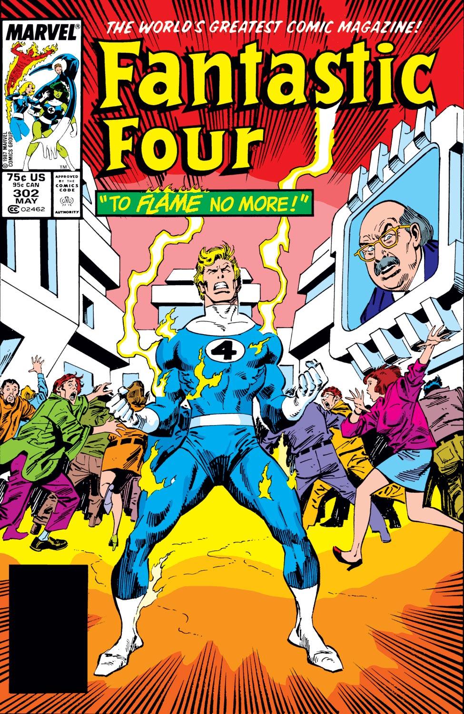 Fantastic Four (1961) #302