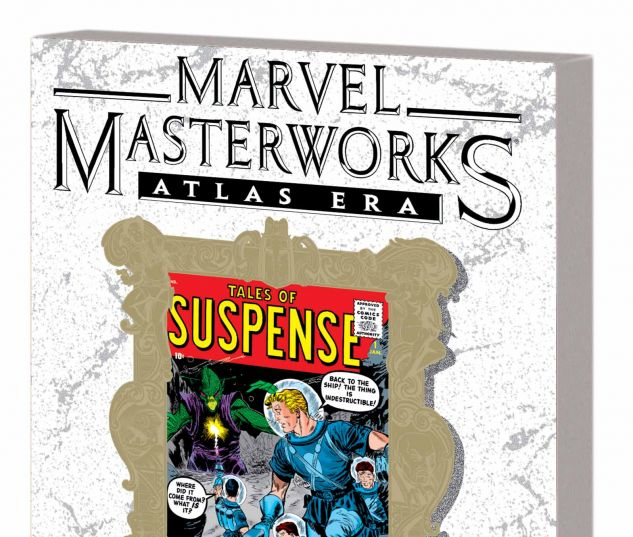 MARVEL MASTERWORKS: ATLAS ERA TALES OF SUSPENSE VOL. 1 TPB VARIANT (DM ONLY)
