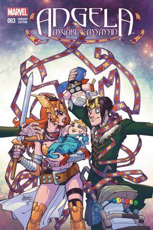 Angela: Asgard's Assassin #3  (Lafuente Variant)