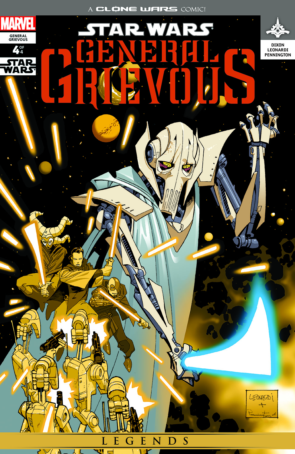 Star Wars: General Grievous (2005) #4