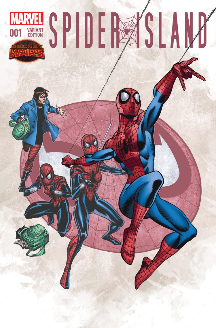 Spider-Island (2015) #1 (Frenz Variant)
